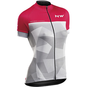 Northwave Origin SS Jersey Women pink/light grey